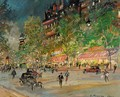 Paris By Night 3 - Konstantin Alexeievitch Korovin