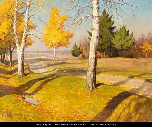 Indian Summer - Mikhail Markianovich Germachev