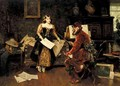 La Leccion De Musica (The Music Lesson) - Jose Miralles Darmanin