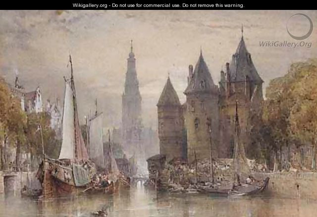 Weighing House, Amsterdam - William Callow