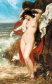 Andromeda Chained To The Rocks - William Etty