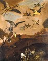 An Assembly Of Birds In A Landscape - Francis Barlow