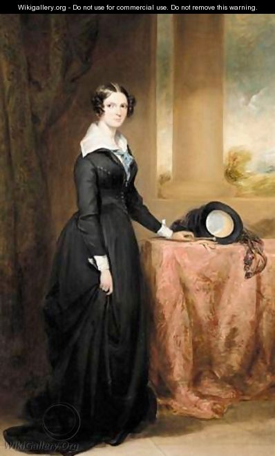 Portrait Of Margaret Henry (1809-1890) - Sir Francis Grant