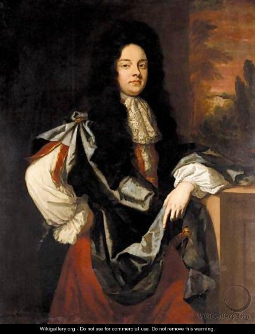 Portrait Of Sir John Wedderburn (1657-1688) Of Gosford   - Sir Godfrey Kneller