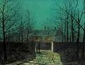Lovers At The Gate - John Atkinson Grimshaw