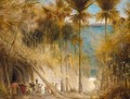 Ali Baba And The Forty Thieves - Albert Goodwin