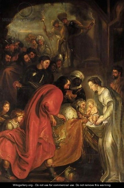 The Adoration Of The Magi 9 - (after) Sir Peter Paul Rubens
