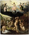 The Last Judgement - (after) Jean Or Johann Sadeler