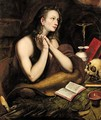 The Penitent Magdalene - Flemish School