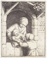 Mother With Two Children - Adriaen Jansz. Van Ostade