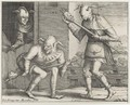 Two And Three Fools Of The Carnival - (after) Pieter The Elder Brueghel