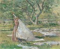 Washing Day - Theodore Robinson