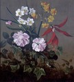 A Still Life Of Flowers - (after) Pierre-Joseph Redoute