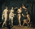 The Judgement Of Paris - Felice Rizzi (Felice Brusasorci Or Brusasorzi)