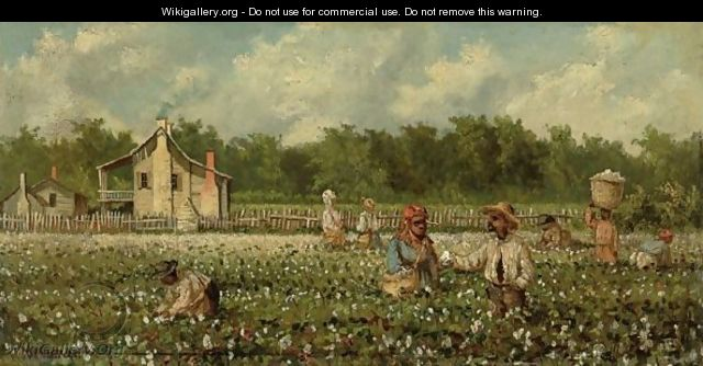 Cotton Field - William Aiken Walker