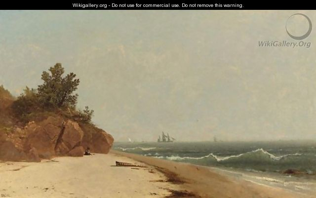 On The Coast, Beverly Shore, Massachusetts 2 - John Frederick Kensett