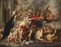 An Allegory Of War And Peace - (after) Sir Peter Paul Rubens