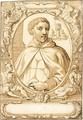 Design For A Book Illustration A Portrait Of St. John Of Matha - Abraham Jansz. van Diepenbeeck