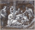The Adoration Of The Shepherds - Gerrit Van Battem