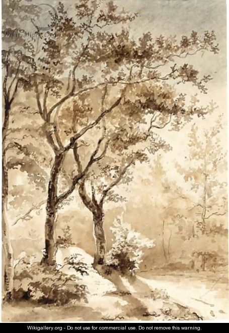 A Wooded Landscape - Dutch School