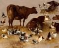 Study Of Cows And Chickens - Alexandre Defaux