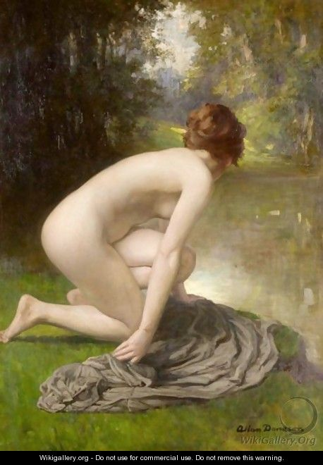 The Bather - Allan Douglas Davidson