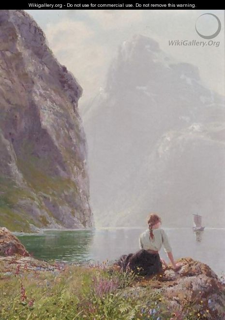 The Geiranger Fjord, Norway - Hans Dahl