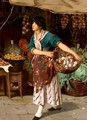 The Little Onion Seller - Franz Leo Ruben