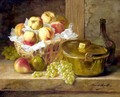 Still Life Of Fruit - Alphonse de Neuville