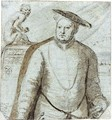 Portrait Of King Henry VIII - Anglo-Dutch School