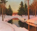 Winter Sunshine - Mikhail Markianovich Germanshev