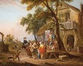 A Quack Doctor In A Village - Jean-Baptiste Lallemand