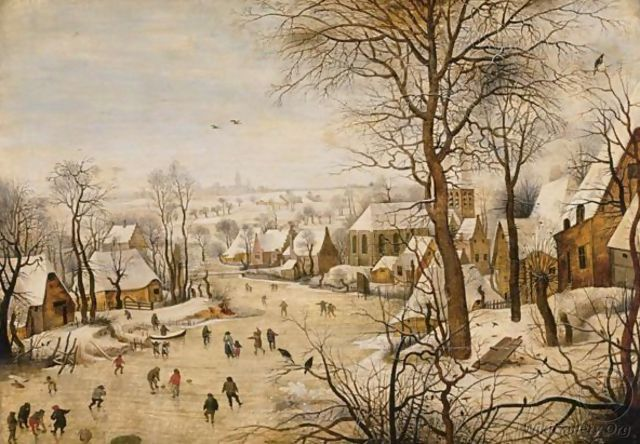 The Bird Trap - Pieter The Younger Brueghel
