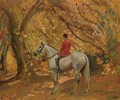 Autumn Sunshine - Sir Alfred James Munnings