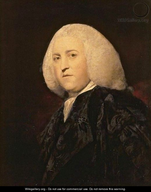 Portrait Of Sir Thomas Miller, Lord President Of The Court Of Sessions - Sir Joshua Reynolds
