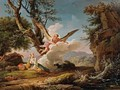 The Banishment Of Hagar And Ishmael - Claude-joseph Vernet