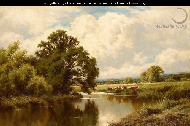 Near Great Marlow On Thames - Henry Hillier Parker
