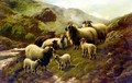 Landscape With Sheep - Robert Watson