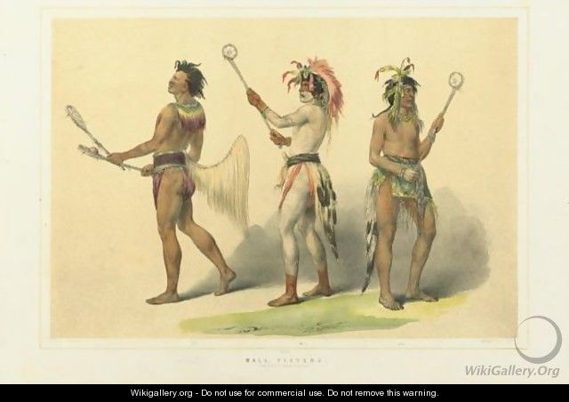 Ball Players - George Catlin
