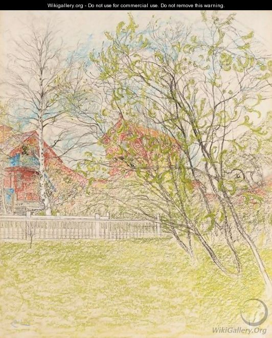 Brygghuset (The Log Cabin) - Carl Larsson