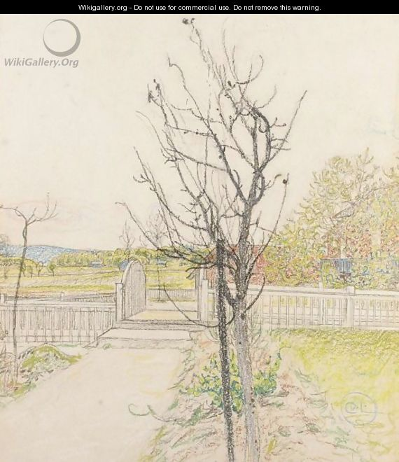Bron (The Bridge) - Carl Larsson