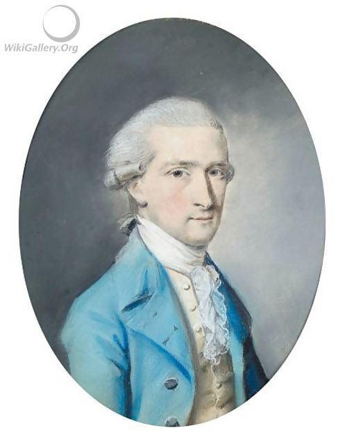Portrait Of A Gentleman - Hugh Douglas Hamilton