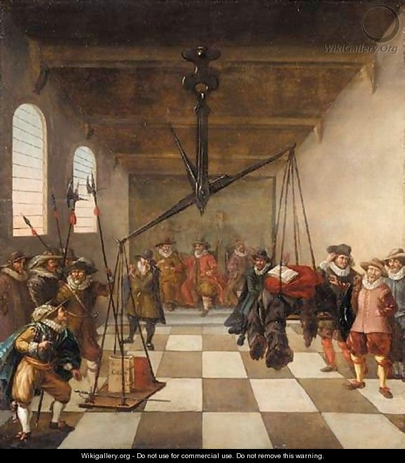 An Allegory Of The Reform Of The Dutch Church - Dutch School