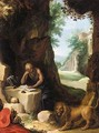 Saint Jerome In A Landscape - (after) Paul Bril