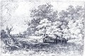 Landscape Drawing - John Glover
