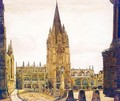 St Mary's Church, Oxford - (after) Peter De Wint