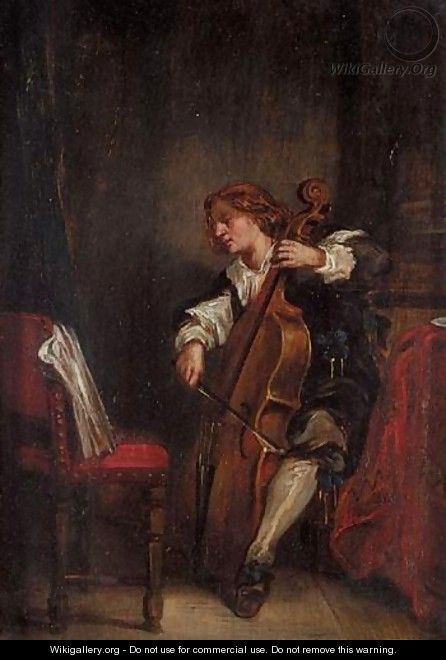 The Cellist - Continental School
