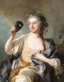Portrait Of Francoise Laurette Randon De Malboisiere, Nee Piquefeu (1722-89) As Thalia, Muse Of Comedy - Louis Michel van Loo