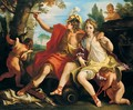 Angelica And Medoro - (after) Sebastiano Ricci