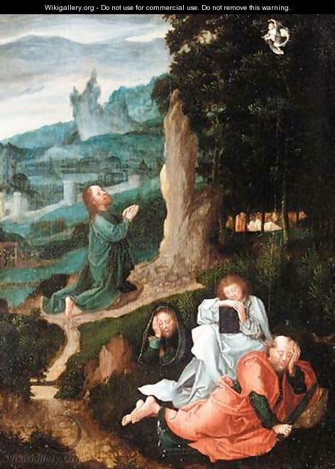 The Agony In The Garden - South Netherlandish School